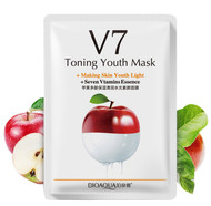 Bioaqua Toning Youth Mask V7 (Apple) buy online in pakistan best price original products
