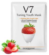 Bioaqua Toning Youth Mask V7 (Strawberry) shop online in Pakistan best price original product