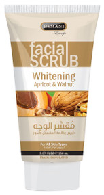 Hemani Whitening Facial Scrub (Apricot & Walnut) 150 ML shop online in Pakistan best price original product