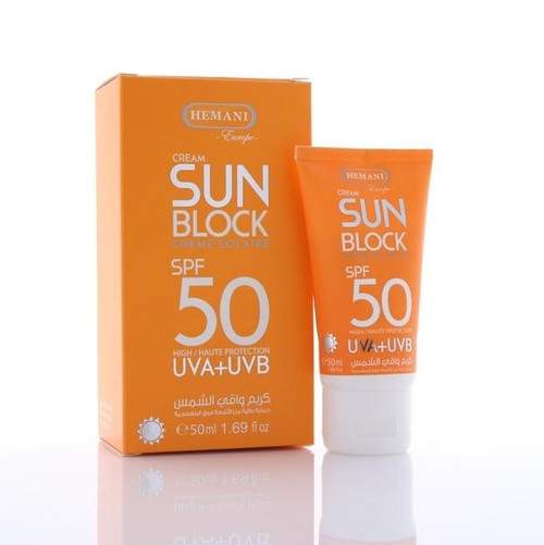Hemani Sun Block SP15 50 ML shop online in Pakistan best price original product
