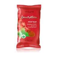 Oriflame Love Nature Soap Bar (Energising Mint & Raspberry) 75 Grams