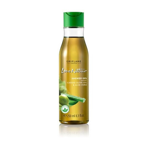 Oriflame Love Nature Shower Gel (Caring Olive Oil & Aloe Vera) 250 ML