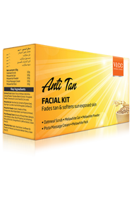 VLCC Anti-Tan Facial Kit 4 Step Kit Arabic Pack
