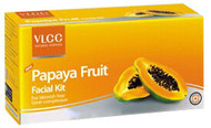 VLCC Papaya Fruit Facial Kit 4 Step Kit Arabic Pack