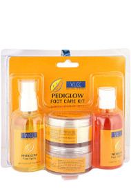 VLCC PediGlow Kit 4 In 1 shop online in Pakistan best price original product