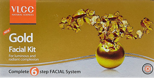 VLCC Gold Facial Kit 6 In 1  best price