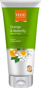 VLCC Orange & Waterlillly Peel-Off Mask 100 ML shop online in Pakistan best price original product