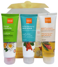 VLCC Face Care Kit (FWash+FScrub+FMask) buy online in pakistan