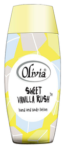 Olivia Sweet Vanilla Rush Hand and Body Lotion 120 ML