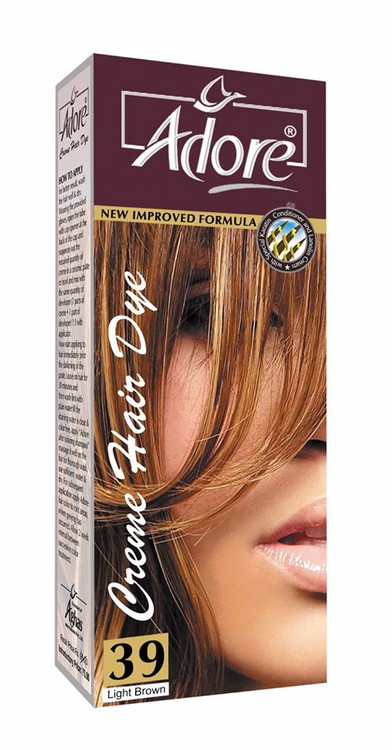 Adore Cream Hair Dye 39 Light Brown