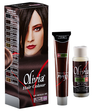 Olivia Hair Colour Light Brown 04