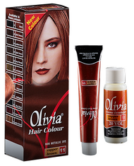 Olivia Hair Colour Copper Brown 11