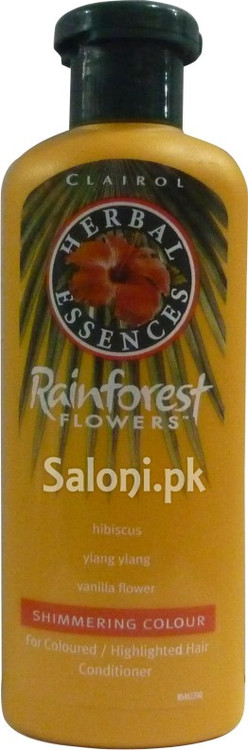 Clairol Herbal Essences Rainforest Flowers Shimmering Colour Conditioner Front