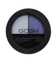 Gosh Matt Duo Eye Shadow 007 Blue Jeans