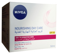 Nivea Rich Moisturising Day Cream 50ML (Dry & Sensitive Skin) buy online in pakistan best nivea cream