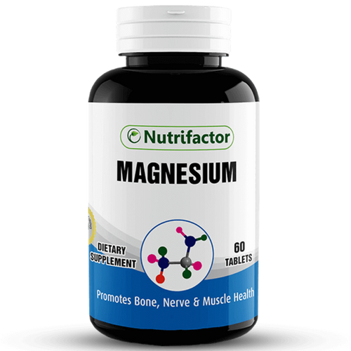 Nutrifactor Magnesium 500mg (60 Tablets)
