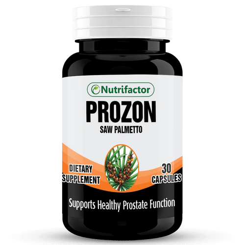 Nutrifactor Prozon Saw Palmetto 270mg (30 Tablets)