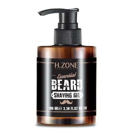 H.Zone Essential Beard Shaving Gel 100ML buy online in pakistan beard shaving gel original products