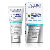 Eveline Men X-treme 3d Whitening Moisturising Cream Gel 50ML buy online men products in pakistan genuine original men face products