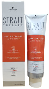 Schwarzkopf Strait Therapy Hair Straightening Cream 1 (For Normal Hair) 300ml buy online in pakistan
