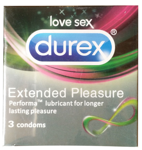 Durex Extended Pleasure Condoms 3 Pieces buy imported condoms in pakistan