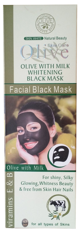 Olive Natural Facial Black Mask 120g buy online natural olive products in pakistan