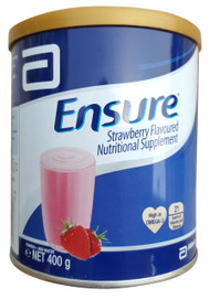 Ensure Powder Nutritional Drink Strawberry 400g buy best milk powder in pakistan original abbott products