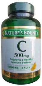 Nature's Bounty Vitamin C 500mg (250 Tablets) buy online imported supplement vitamins in pakistan
