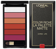 L'Oreal Paris Colour Riche Matte Addiction La Palette Lip 01 Bold buy online in pakistan best lip palette in pakistan