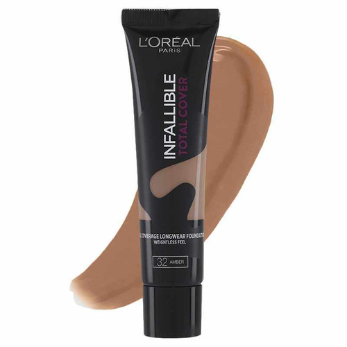 L'Oreal Paris Infallible Total Cover Foundation 32 Amber buy online in pakistan