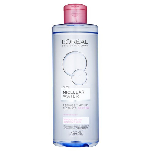 L'Oreal Paris Micellar Cleansing Water 400ml buy online best micellar water in pakistan
