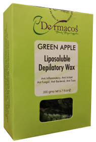Dermacos Green Apple Liposoluble Depilatory Wax 200g buy online in pakistan