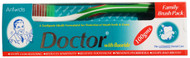 Doctor Family Brush Pack With Fluoride 100g buy online best toothpaste