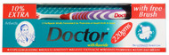 Doctor Toothpaste With Flouride 220g With Free Brush Buy online in pakistan