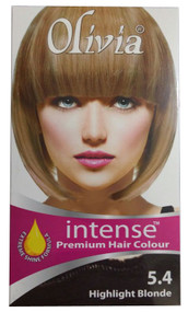 Olivia Intense Premium Hair Colour 5.4 Highlight Blonde buy online in pakistan