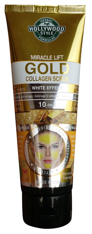 Holly Wood Style Miracle Lift Gold Collagen Scrub 100ml Buy online in pakistan