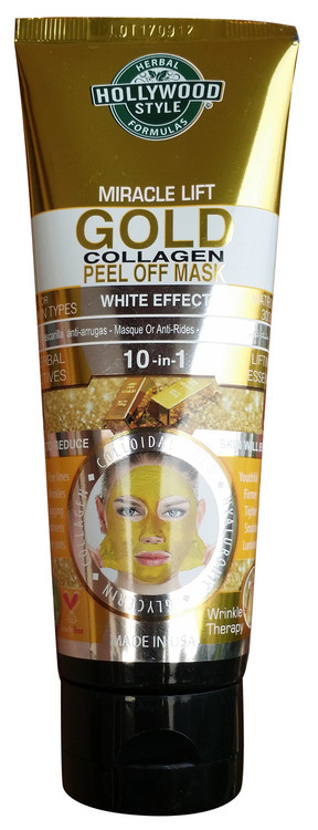 Holly Wood Style Miracle Lift Gold Collagen Peel Off Mask 100ml Buy online in pakistan