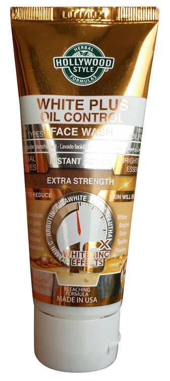Holly Wood Style White Plus Oil Control Face Wash 100ml Buy online  in pakistan