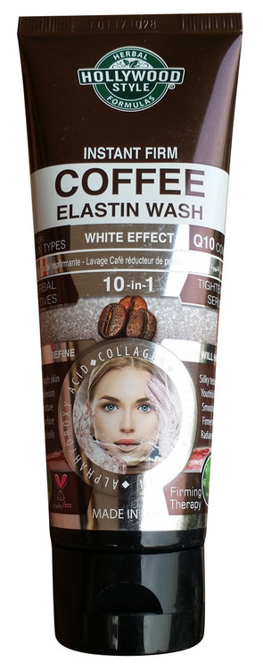 Holly Wood Style Instant Firm Coffee Elastin Wash 100ml Buy online in pakistan