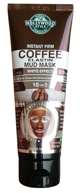 Holly Wood Style Instant Firm Coffee Elastin Mud Mask 100ml Buy online in Pakistan