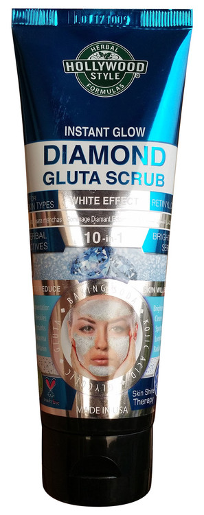 Holly Wood Style Instant Glow Diamond Gluta Scrub 100ml Buy online in pakistan