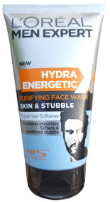 L'Oreal Men Expert New Hydra Energetic Purifying Face wash Skin&Stubble 150ml Buyonline in pakistan