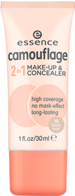 Camouflage 2 in 1 Make-up & Concealer 10 Ivory Beige 30ml buy online in Pakistan