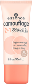 Camouflage 2 in 1 Make-up & Concealer 20 nude Beige 30ml buy online in Pakistan