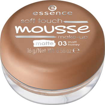 Essence Soft Touch Mousse Make-up 03 matt honey 16g Buy online in pakistan