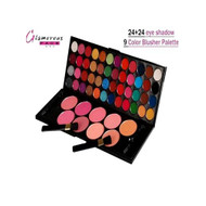 Glamorous Face 24+24 Eye Shadow+9 Color Blusher Palette Lowest Price on Saloni.pk