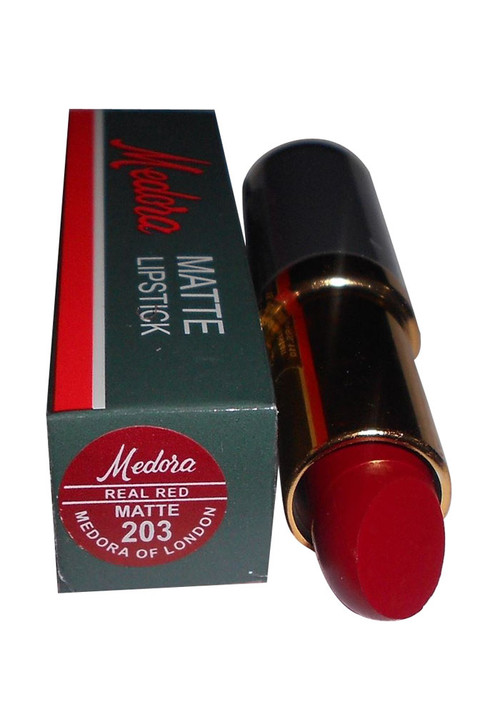 Medora Lipstick Matte Real Red 203