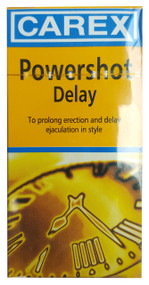 Carex Powershot Delay Condoms 12 Pieces buy online in pakistan