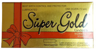 Super Gold Lubricated Condoms 12 Pieces buy online in pakistan