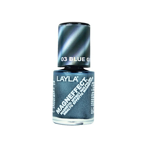 Layla Cosmetics Layla Magneffect Nail Polish Blue Gray Flow 03 buy online in pakistan